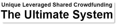 Unique Leveraged Shared Crowdfunding