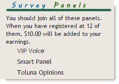 Survey Panels