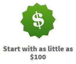 As little as $100