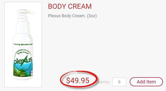 Expensive Body Cream