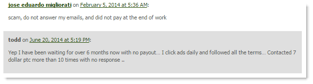 Site Doesn't Pay Out