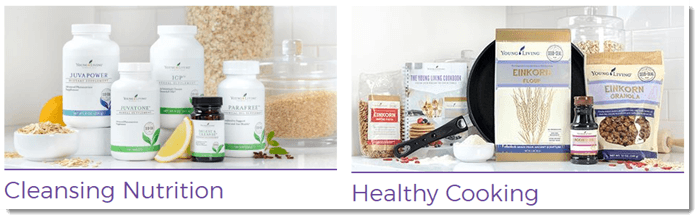 Healthy cooking and nutrition