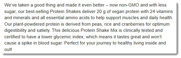Protein Shake Claim from Airbonne