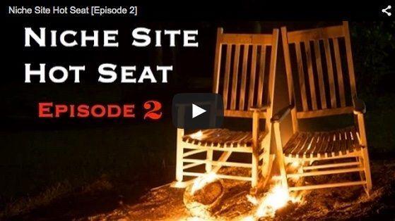 niche site hot seat 2 live recording