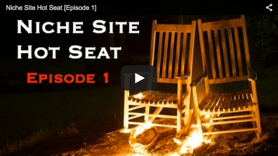niche site hot seat episode 1 thumbnail