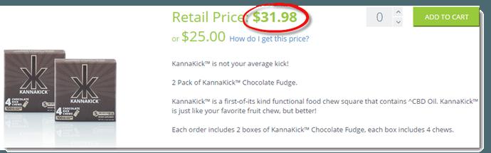 Retail Price