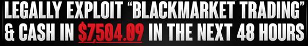 Blackmarket Trading