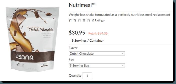 Nutrimeal Shakes