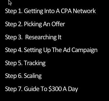 cpa income boss steps