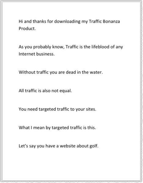 jumbo traffic pdf
