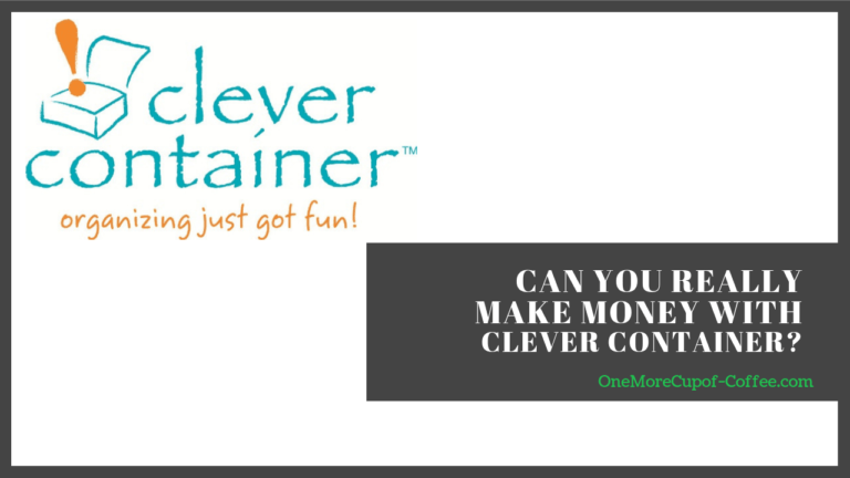 make money clever container