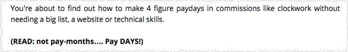 paydays