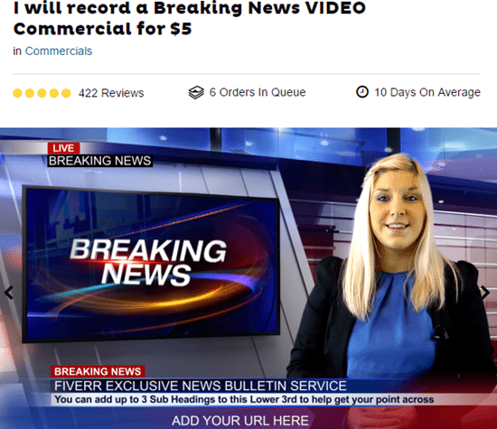 Breaking News Video