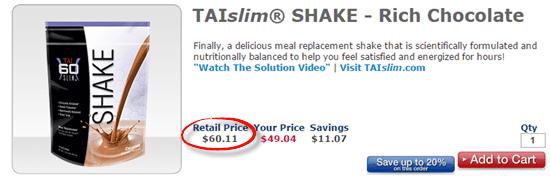 TAIslims Shake