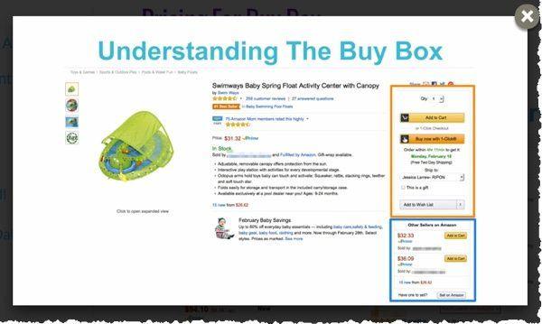 amazon fba buy box