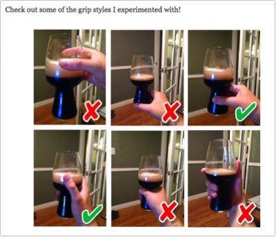 comparison glass