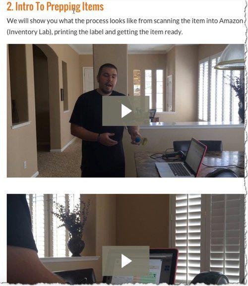 item prepping videos