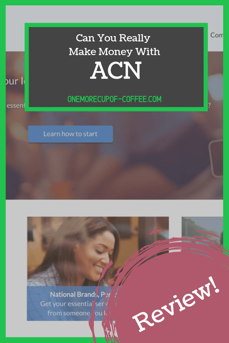 acn website homepage with text overlay that says,