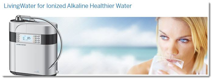 Ionized Healthy Water