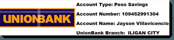 Unionbank Information
