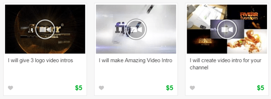 Fiverr Videos