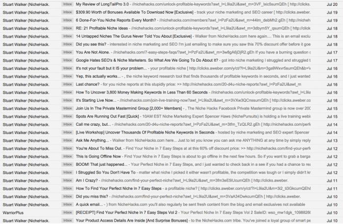 walker emails