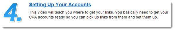 Setting Up Accounts