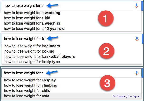 google lose weight