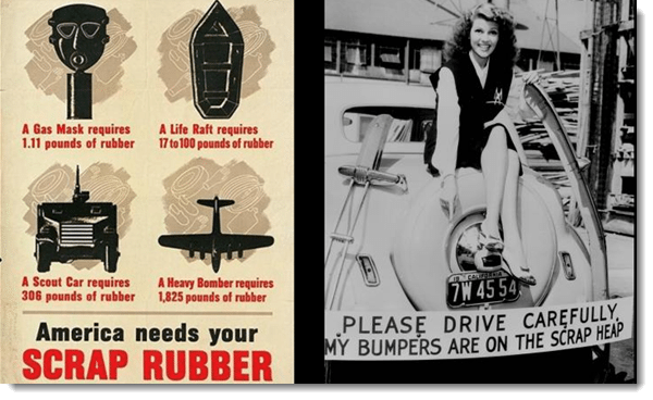scrap posters wwII