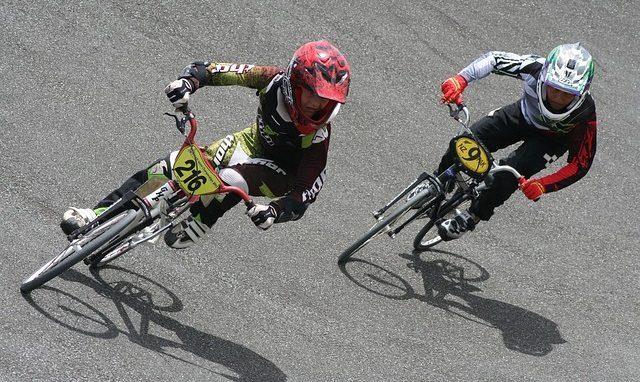bmx bicycle racing gear