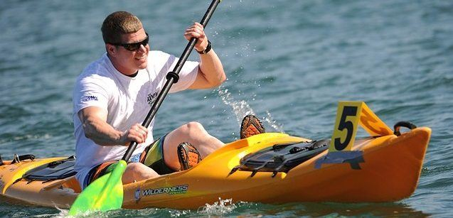 kayak racer