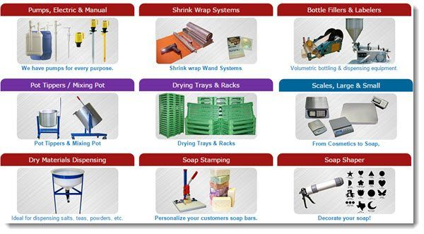 industrial soapmaking equipment