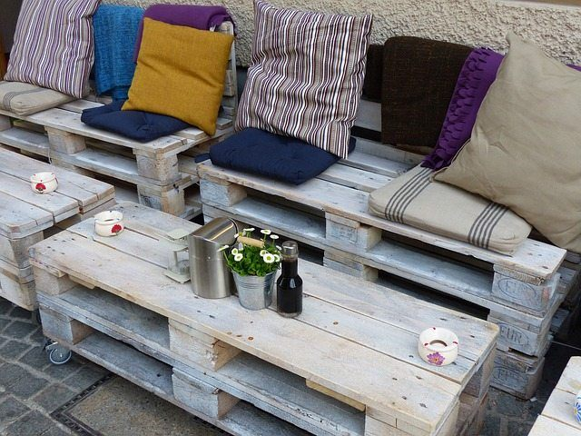 DIY patio furniture idea