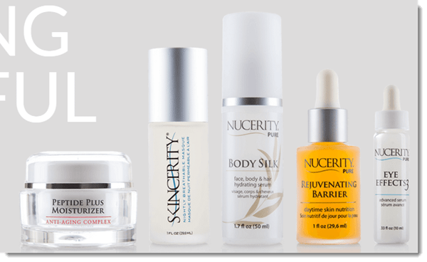 NuCerity Product Range