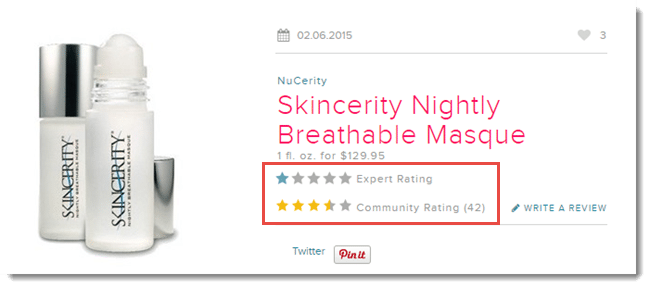 Skincerity Masque