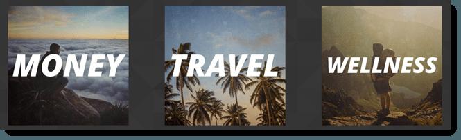Money, Travel and Wellness