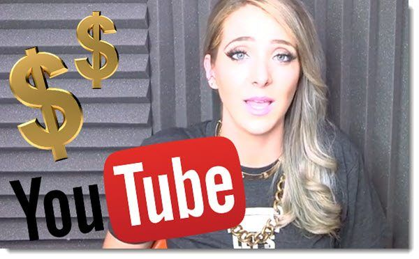 Jenna Marbles Making money on YouTube
