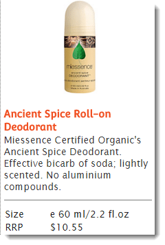 Ancient Spice Roll-on Deodorant