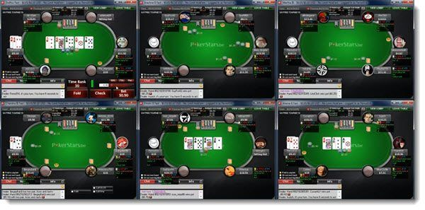 multi tabling pokerstars