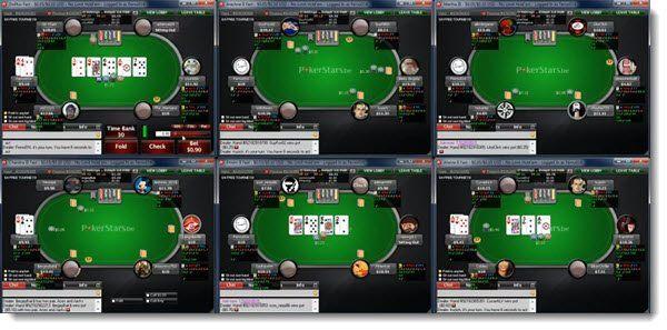 multi tabling pokerstars