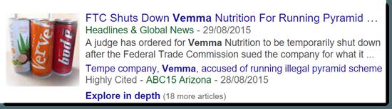 FTC shuts down Vemma