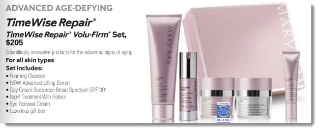 Skincare from Mary Kay