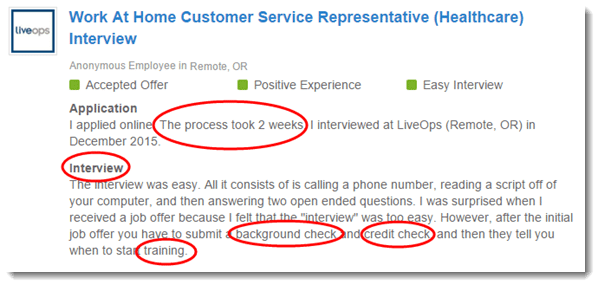 call center employee review