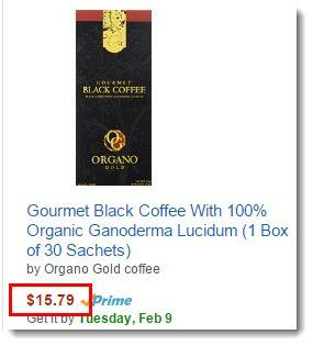 Gourmet Black Coffee
