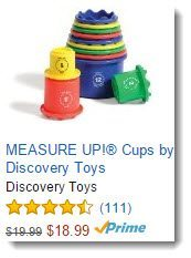 Measure Up! cups on Amazon
