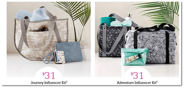 Adventurer and Influencer Starter Kits