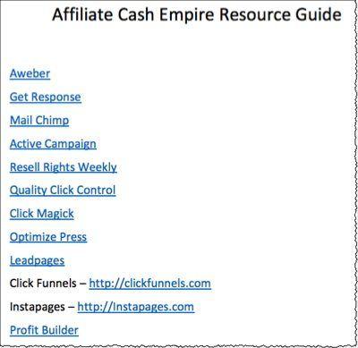resource guide screenshot