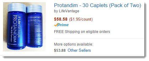 Protandium on Amazon