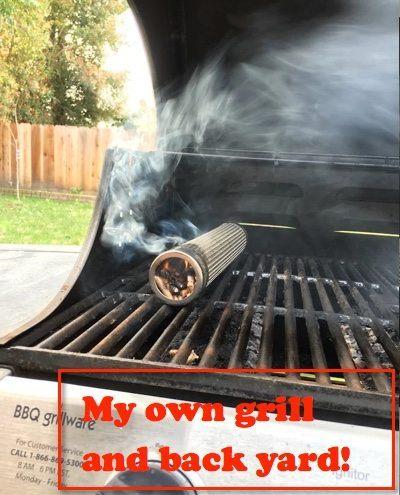 amazen smoker gas grill