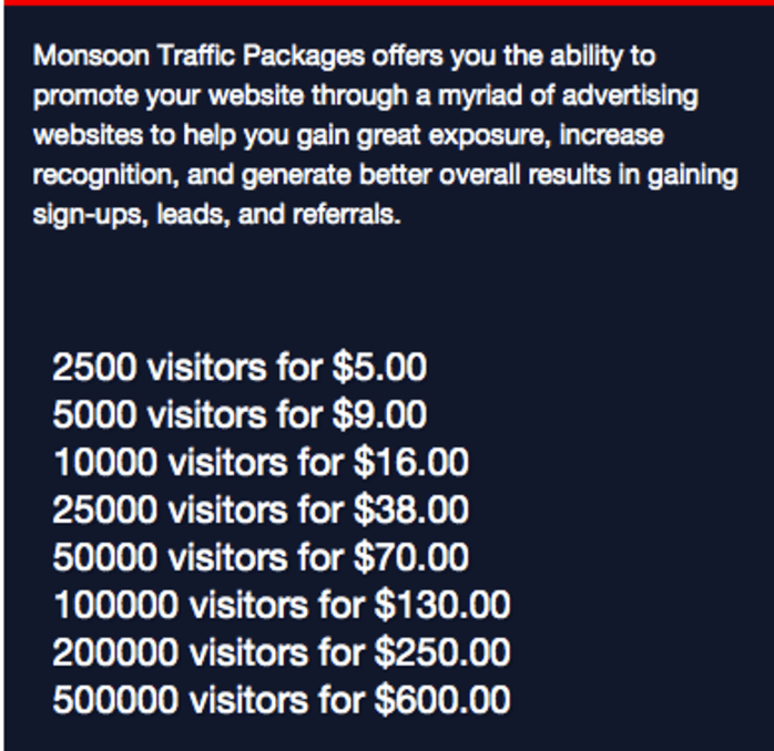 ad pack pricing